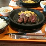 いきなりステーキ - ランチステーキワイルド(1,130円+税)