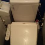 かき殻荘 - トイレもきれいでした