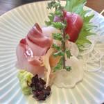 醸しや 大澤 - お刺身の盛り合わせ【料理】