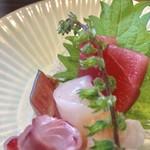醸しや 大澤 - お刺身アップ2 【料理】