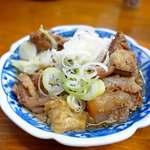 菊一 - スジ煮