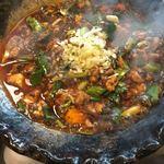 ファンファン - 麻婆豆腐(*´ω`*)火傷注意! ご飯に盛って フーフーして食べるの推奨