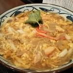 丸亀製麺 - かに玉あんかけ アップ