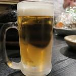 口福家 HANARE - 2敗目のビール