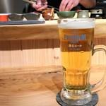 鮨ななお - 生ビール 香るエール 500円