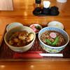 大むら - 料理写真:小海老天重、小ざるセット(かけそばに変更)