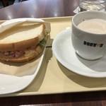 ドトールコーヒーショップ - モーニングB
