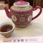 生香園 - お茶。