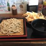 蕎麦たかね - 天ざる ¥630