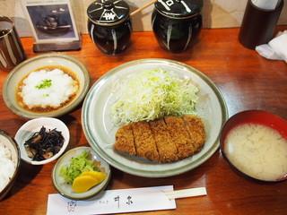 銀座 井泉 - おろしロース