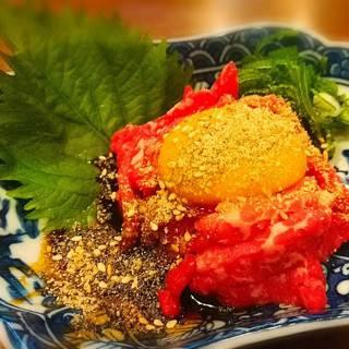 京都保健所より「生食用食肉取扱い」の届出証明を頂いております