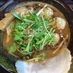 九十九里 麺ドラゴン - お連れが食べたしょうゆ煮干しそば