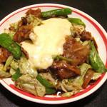 龍あん - チーズ回鍋肉