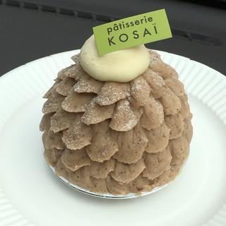コサイ - 料理写真:岩間栗のモンブラン(2017秋バージョン)