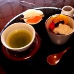 お茶の郷 ゑぼし - 料理写真:煎茶セット