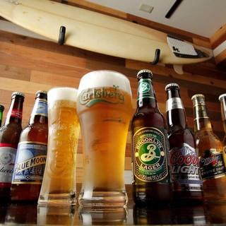 アメリカン肉料理と7種のクラフトビールのマリアージュ!