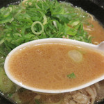 ザ・ナガハマラーメン - あっさり豚骨に合ったサラサラ系味噌ラーメンです。