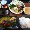 杜のあぶりや 真仁 - 料理写真:特撰牛タンランチ1280円  &サラダ&ドリンクのセルフバー