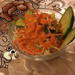 インドカレー 成増キッチン - ミニサラダ