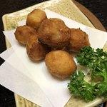 郷土料理 でくのぼう - 里芋もから揚げ(550円)