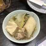 郷土料理 でくのぼう - きりたんぽ鍋