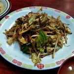 丸長食堂 - 肉野菜味噌炒め定食