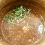 77892676 - ベジポタつけ麺のスープ