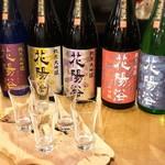 菜の音 - 日本酒の見比べセット