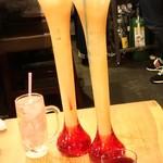 菜の音 - 特別仕様のお祝い用のグラス