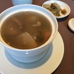 77893428 - 香港土鍋炊き込み健康スープ