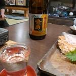 かに吉 - 【鷹勇 純米吟醸なかだれ 大谷酒造 鳥取県】♫2017/11