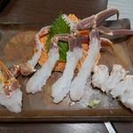 かに吉 - 【蟹お造り】◎2017/11