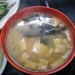 キッチンあべ - みそ汁