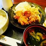 恵比寿和顔 - 若鶏の唐揚げ定食