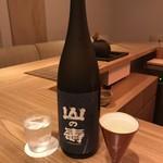 バー アヤ - 山の壽 特別純米酒 山田錦