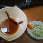 7790922 - 温泉釜豆腐のタレ