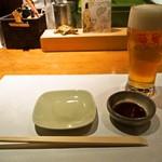 本等鮨 海馬 - 生ビール