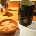 本等鮨 海馬 - お茶