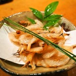 本等鮨 海馬 - 白海老燻製