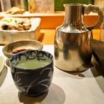 本等鮨 海馬 - 燗酒