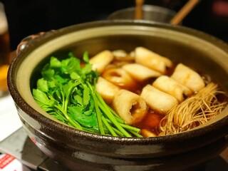 銀座 佐藤養助 - きりたんぽ鍋
