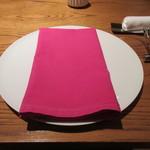 munakata cuisine ishida - テーブルセッティング