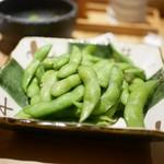 権八 SUSHI - 枝豆