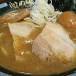 心の味製麺 平井店 - 濃厚豚骨魚介ラーメン・小 780円