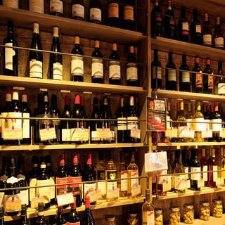 『世界のワインを楽しめる』ウォークインワインセラー