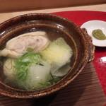 馳走や直 - 鶏の水炊き
