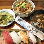 7791267 - 穴子丼+鮨