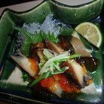 梅の花 - アワビ料理
