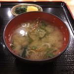 清野太郎 - 味噌汁