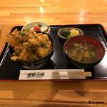 清野太郎 - 小海老かき揚げ天丼